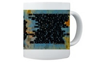 """A Mighty Fortress Is Our God"" ceramic coffee mug"