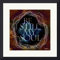 "Framed example -- ""Be Still, My Soul"""