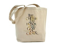 """Fairest Lord Jesus"" tote bag"