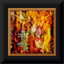"Framed example -- ""Love Divine, All Loves Excelling"""