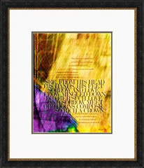 "Framed example -- ""When I Survey the Wondrous Cross"""